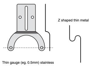 Encoder torsion arm example